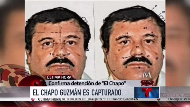 Recapturan a El Chapo Guzman en Mexico