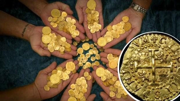 Tesoro millonario en la playa: monedas perdidas hace 300 años