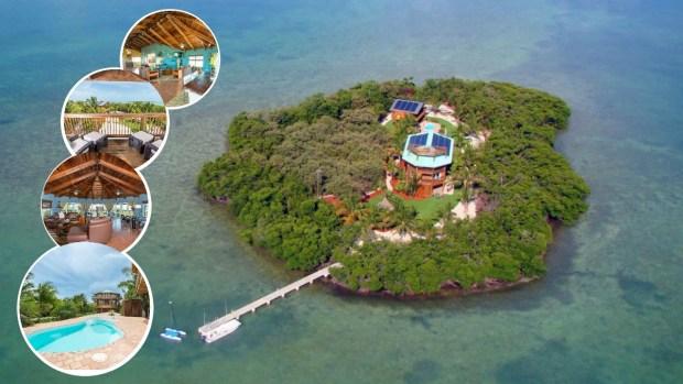 Por dentro: se vende mansión de ensueño con isla incluida