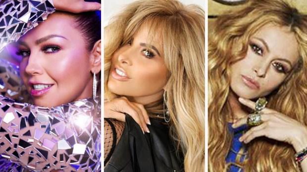 Thalía y Paulina Rubio en el mismo show: ¿será Gloria Trevi la intermediaria?