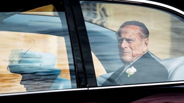Imágenes de lugar del accidente del príncipe Felipe