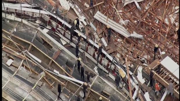 [TLMD - PHI] Gallinas sobreviven tornado en Lancaster