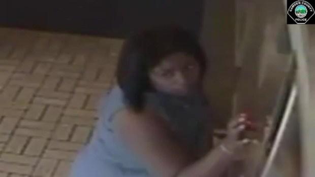 [TLMD - PHI] Captado en cámara: mujer utiliza hijo para robar