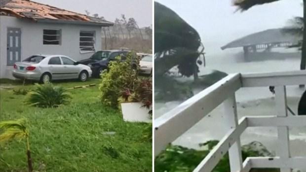 [TLMD - LV] Video: Dorian arranca techos y causa inundaciones en Bahamas