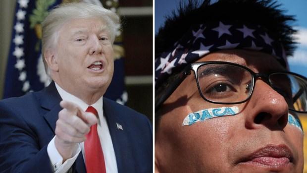 DACA en la era Trump: el plan a futuro del presidente y su dilema