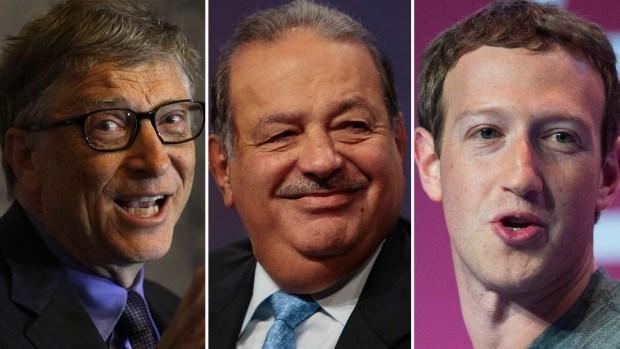 Forbes 2016: Los 11 más ricos del mundo