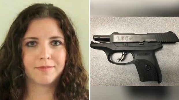 Pánico en escuela: maestra auxiliar entra con pistola cargada