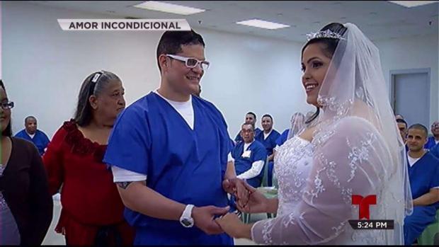 Se casa con reo que cumple 152 años de prisión