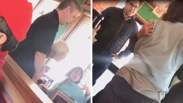 Mujer insulta a gerente de restaurante mexicano por hablar español