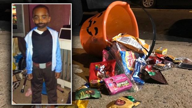Halloween sangriento: niños piden dulces, pero reciben otra cosa