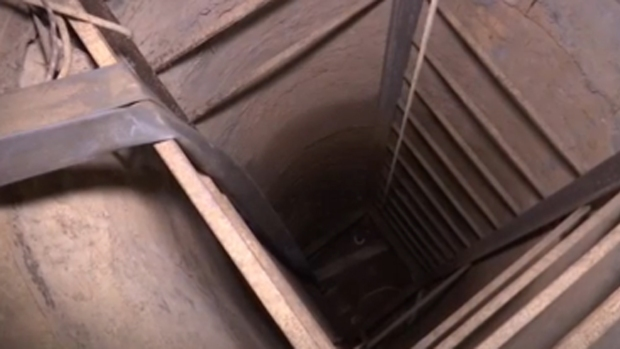 """Conoce por dentro el primer túnel de """"El Chapo"""""""