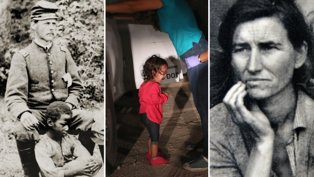 Separación de familias, la historia oscura de EEUU