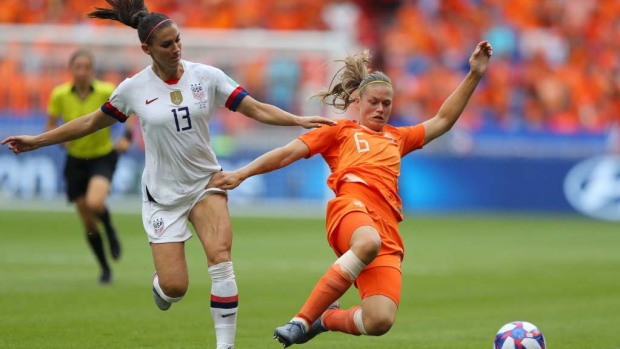 Lo mejor del primer tiempo de la final entre EEUU y Holanda