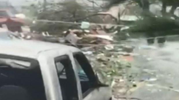 Dramáticas imágenes de los catastróficos vientos de Dorian en Bahamas
