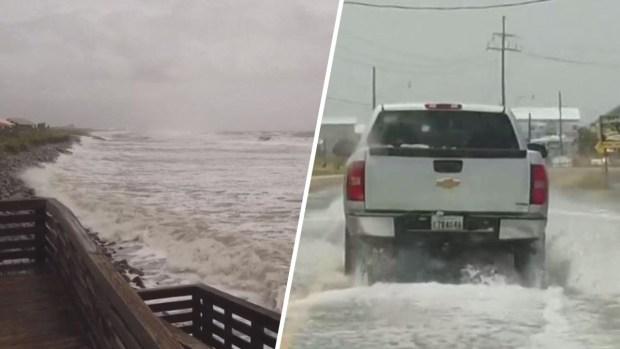 [TLMD - LV] En imágenes: así comienza a sentirse la tormenta tropical Barry en Luisiana