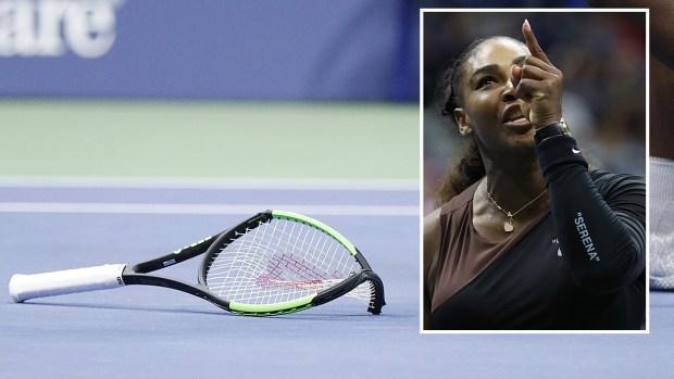 """""""Mentiras y sexismo"""": las polémicas que le costaron miles a Serena Williams"""