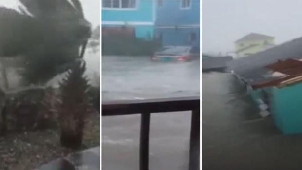 "[TLMD - MIA] ""Recen por nosotros"": pánico en Bahamas por embate de huracán Dorian"