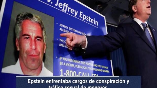 Fuentes: Epstein muere por suicidio en su celda en Nueva York