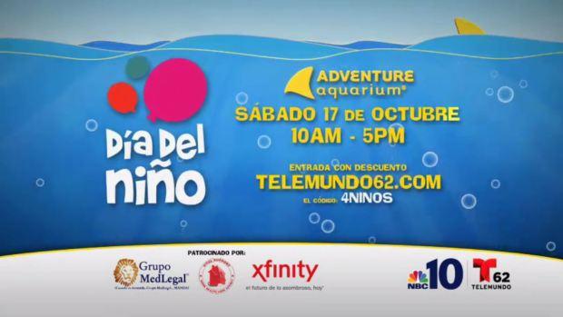 Telemundo62 y NBC10 te invitan a Día del Niño el sábado 17 de octubre!