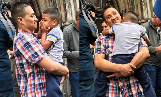 Mexicano abandona iglesia para luchar por su estatus migratorio