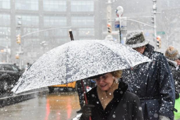 Sistema invernal traerá nieve y temperaturas gélidas