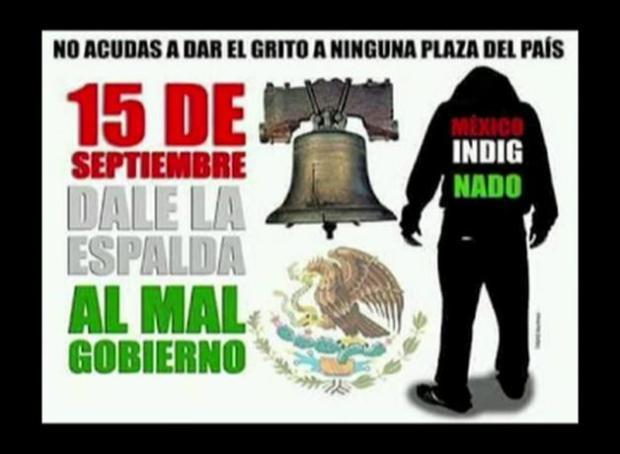 """Peña Nieto cancela cena de """"El Grito"""""""