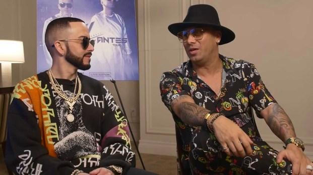 """[TLMD - LV] Wisin y Yandel se reencuentran para su gira por EEUU """"Como Antes"""""""