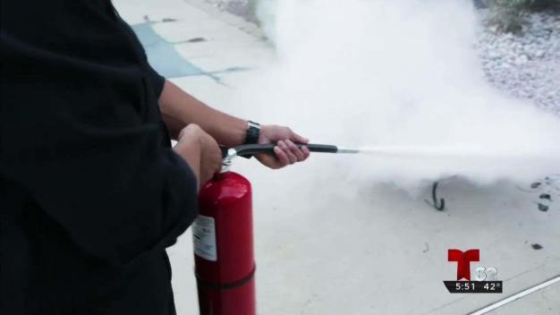 Aprende más de tus extintores de incendios