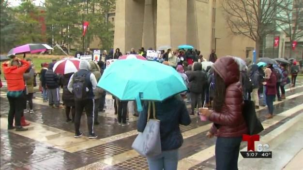 Protestas a granel al centro de Filadelfia