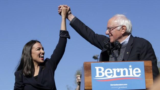 """""""Estoy de regreso"""": Sanders tras operación del corazón"""