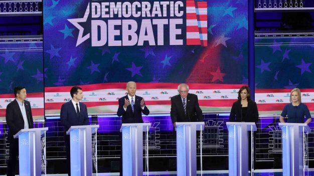 Candidatos que dominaron la segunda noche del debate