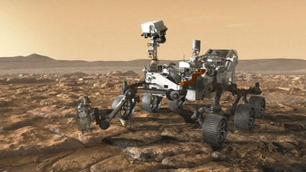 """""""Muerta"""" en Marte: la increíble sonda que se silenció}"""