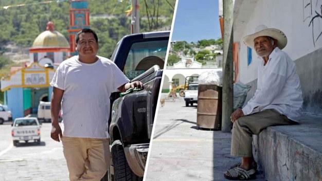 Mexicanos que viven de remesas opinan sobre redadas}