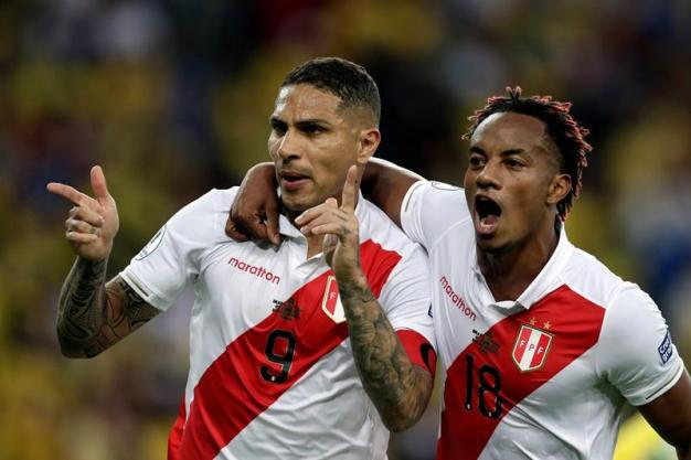 Perú empata a 1 con tiro penal de Paolo Guerrero