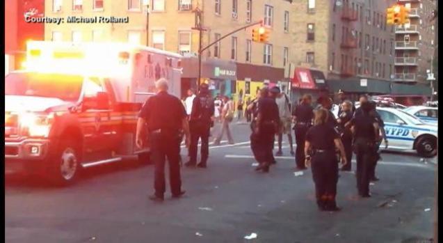 Policías propinan paliza a detenido en Target