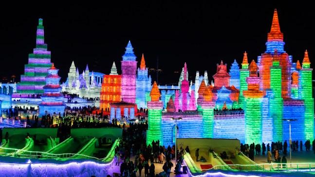 China: inicia mágico festival de hielo y nieve