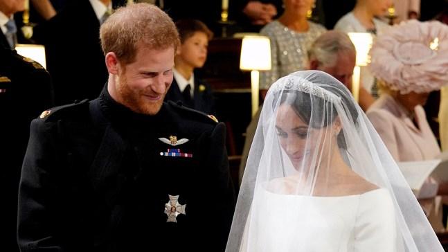 Lo que el príncipe Harry susurró a Meghan en el altar