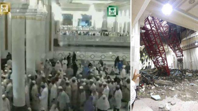 Decenas mueren tras accidente en mezquita