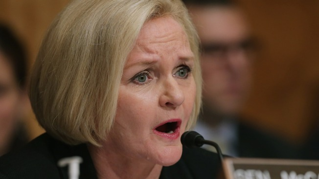 Senadora se atraganta y otro senador le fractura una costilla