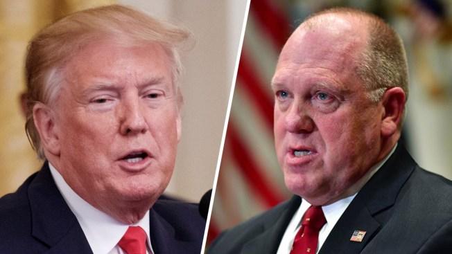 """Trump nombrará a su primer jefe de ICE como """"zar de la frontera"""""""
