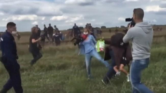 Identifican a migrante agredido en cámara