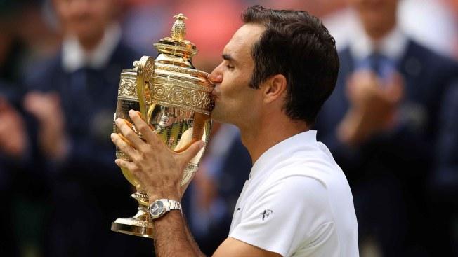 Federer hace historia y consigue octavo título en Wimbledon