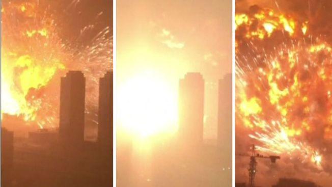 Ya son 112 los muertos por explosiones en China