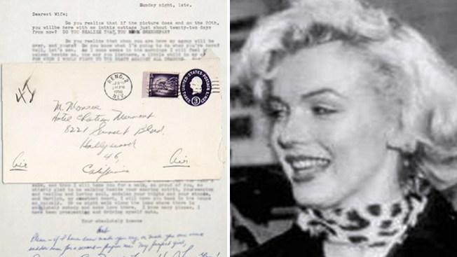 Jugosa suma por cartas de amor de Monroe