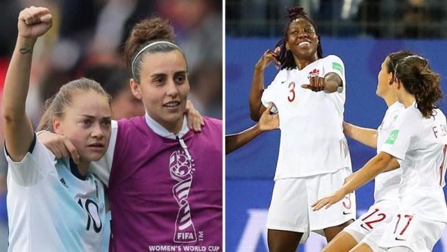 Copa Mundial Femenina: resultados de la jornada