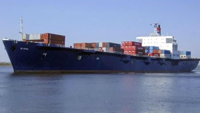 Confirman hundimiento de barco desaparecido