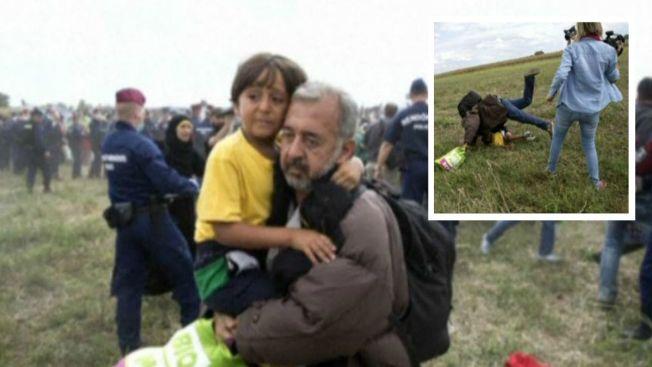 Final feliz para refugiado que recibió zancadilla