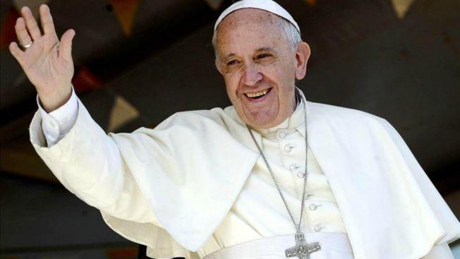 Papa envía mensaje a Cuba antes de su visita