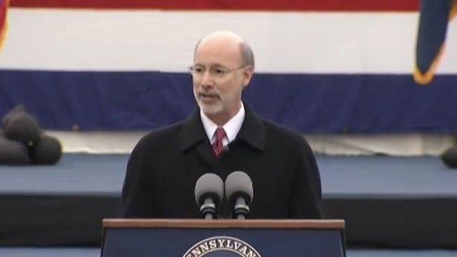 Wolf juramenta como gobernador de Pensilvania