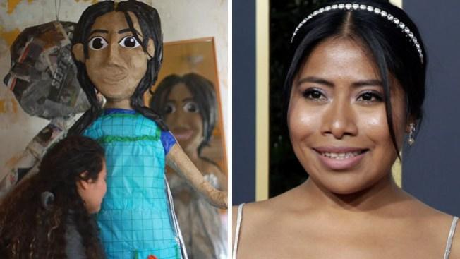 Crean piñata de Yalitza Aparicio tras nominación al Óscar